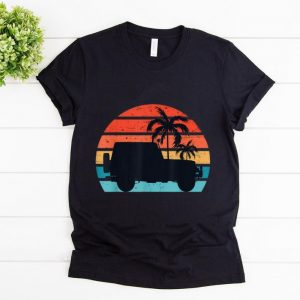 Awesome Vintage Jeeps Retro 70s 80s Distressed shirt