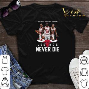 Chicago Bulls Players Legends Never Die Dennis Rodman shirt sweater
