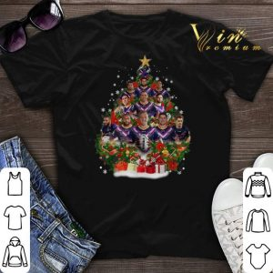 Christmas trees Melbourne Storm players shirt