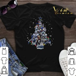 Dallas Cowboys all player Christmas Tree shirt sweater