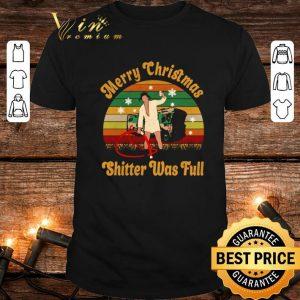 Donald Trump Merry Christmas shitter was full vintage shirt