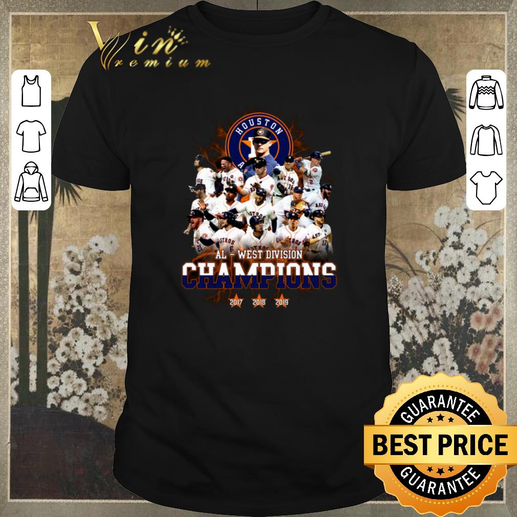 Funny Houston Astros Al West Division Champions Shirt Sweater