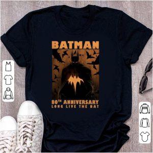 Hot Batman 80th anniversary long live the Bat shirt