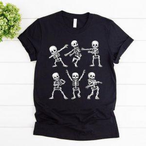 Hot Dancing Skeletons Dance Challenge Boys Girl Kids Halloween shirt
