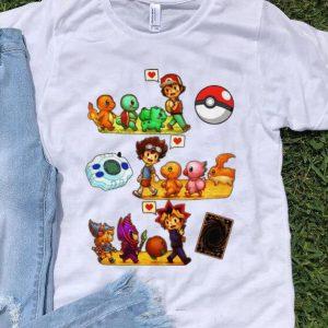 Hot Pokemon Digimon Yugioh Childhood shirt