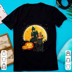 Hot Scottish Terrier Pumpkin Halloween Costume shirt