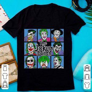 Hot The Joker Bunch Joker All Movies shirt