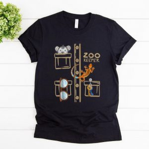 Hot Zookeeper Costume - Halloween Jungle Explorer shirt