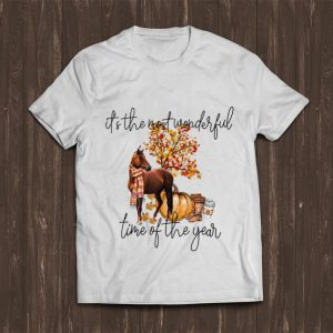 Nice Horse It's The Most Wonderful Time Of The Year shirt