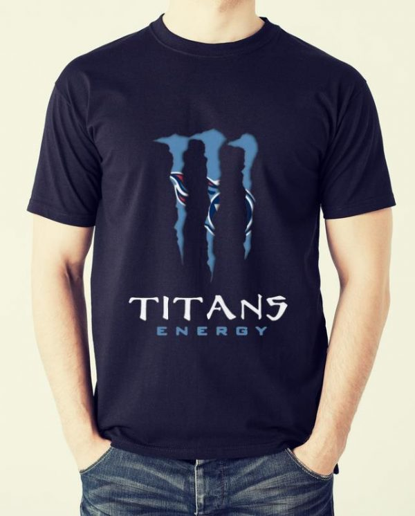 Nice Monster Tennessee Titans Energy shirt