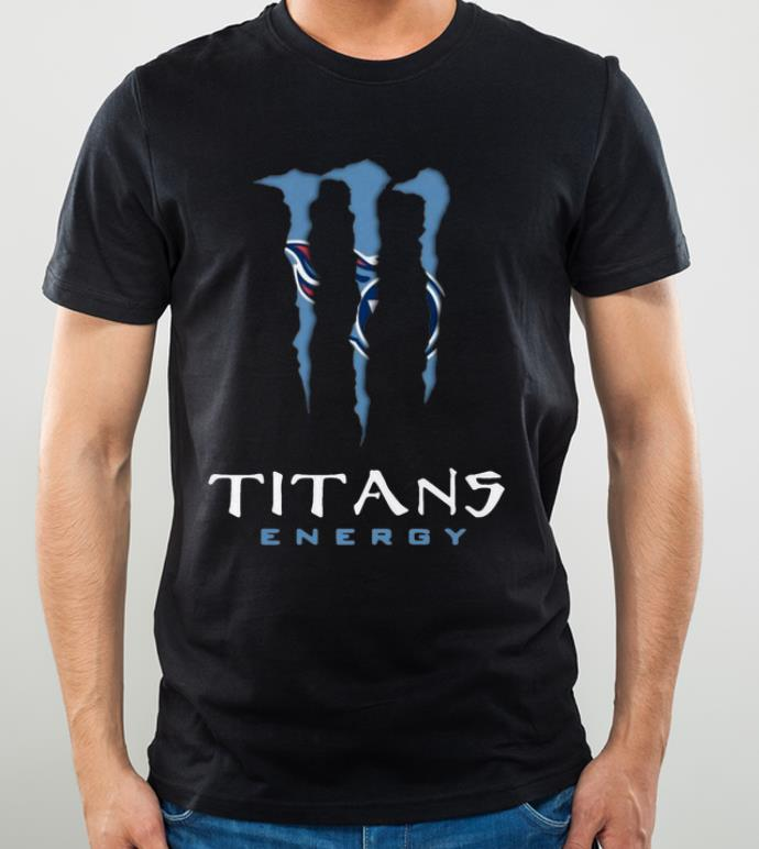 Nice Monster Tennessee Titans Energy shirt 4 - Nice Monster Tennessee Titans Energy shirt