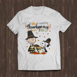 Nice Peanuts Snoopy And Charlie Brown Happy Thanksgiving shirt