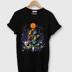 Nice Solar System Planets Christmas Tree shirt