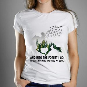 Official Horse And Into The Forest I Go To Lose My Mind And Find My Soul shirt