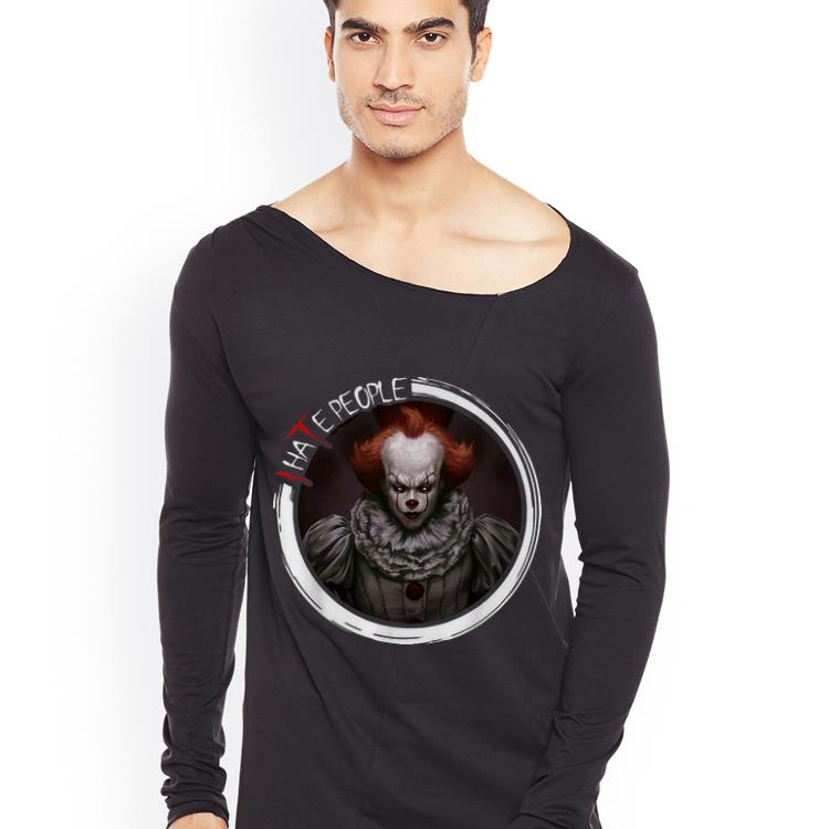 Official Pennywise IT I Hate People Halloween shirt 4 - Official Pennywise IT I Hate People Halloween shirt