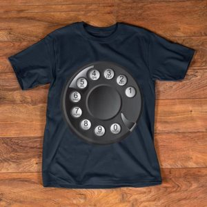Official Rotary Phone Halloween Costume Vintage Dial Telephone shirt