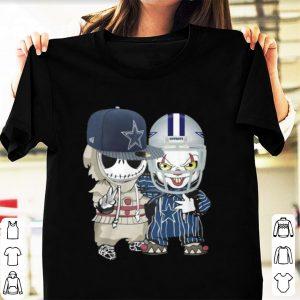 Original Baby Jack Skellington and Pennywise Dallas Cowboys shirt