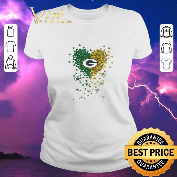 Original Logo Hearts Green Bay Packers shirt