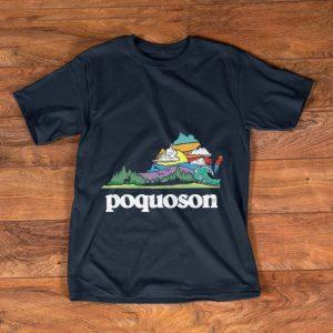 Original Retro Poquoson Virginia Outdoors Nature Lover shirt