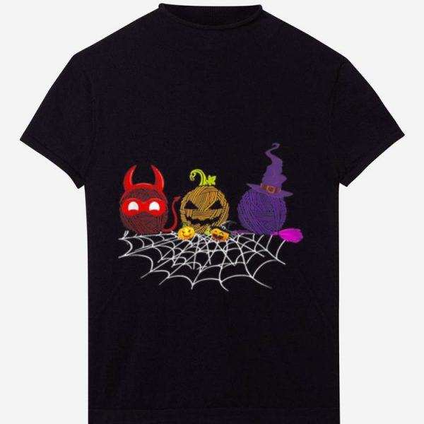 Original Three Crochet Halloween gifts shirt
