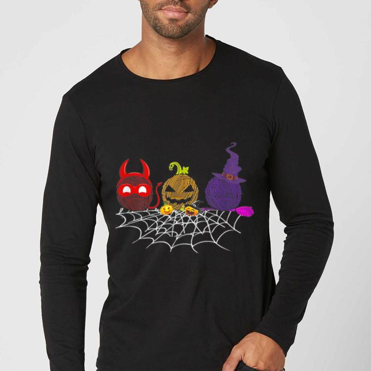 Original Three Crochet Halloween gifts shirt 4 - Original Three Crochet Halloween gifts shirt