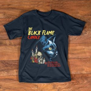 Original Vintage Halloween Black Flame Candle Cat After 300 Years shirt
