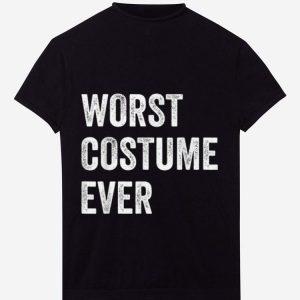 Original WORST COSTUME EVER - Funny Halloween shirt