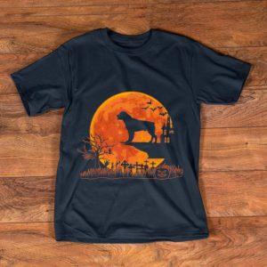 Premium Halloween Rottweiler Dog Moon Costume Gift shirt