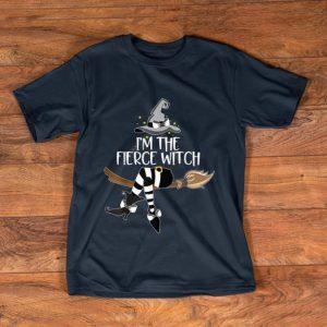 Premium Im the Fierce Witch Halloween Matching Group Costume shirt