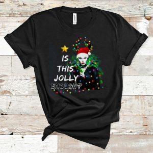 Premium Is This Jolly Enough Santa Maleficent shirt