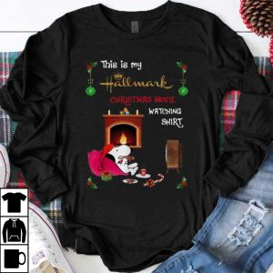 Premium Snoopy This Is My Hallmark Christmas Movie Watching shirt