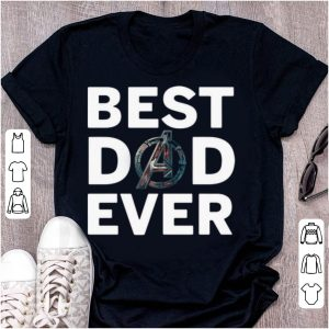 Pretty Avengers Best Dad Ever shirt