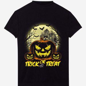 Pretty Halloween Trick Or Treat Jack O Lantern Pumpkin shirt
