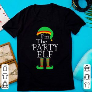 Pretty I'm The Party Elf Matching Family Group Funny Christmas Gift shirt