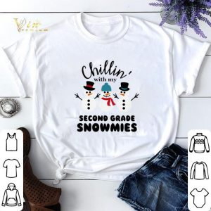 Snowman Chillin' with my second grade Snowmies shirt sweater