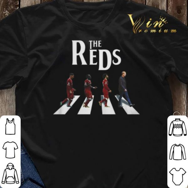 The Reds Liverpool Abbey Road shirt sweater