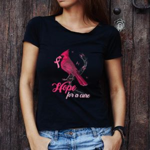 Top Cardinal Breast Cancer Awareness Hope For A Cure shirt