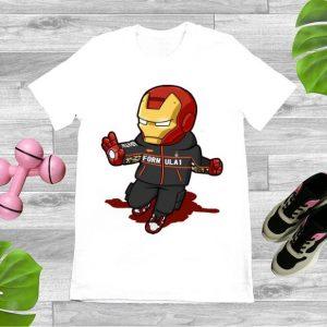 Top Chibi Iron Man FORMULA 1 Nike Avengers shirt