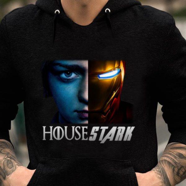 Top House Stark Arya Stark And Iron man Tony Stark shirt