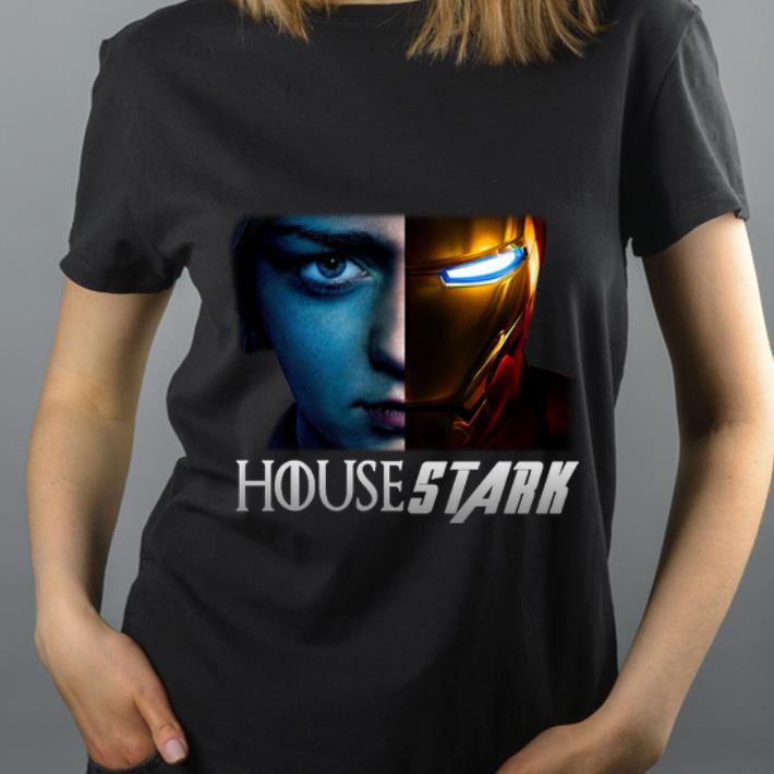 Top House Stark Arya Stark And Iron man Tony Stark shirt 4 - Top House Stark Arya Stark And Iron man Tony Stark shirt