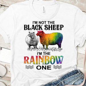 Top I'm Not The Black Sheep I'm The Rainbow One shirt