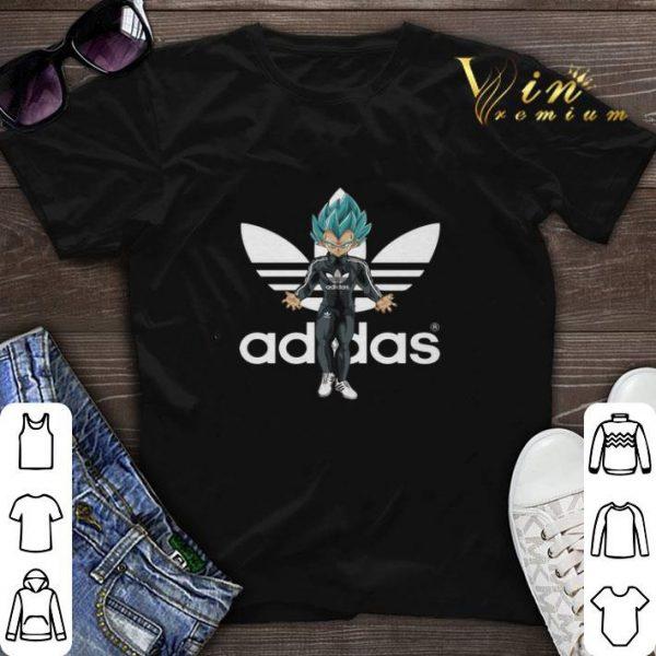 Adidas Vegeta Super Saiyan Blue shirt sweater