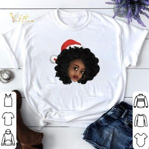 Afro Natural Black Women Christmas shirt sweater