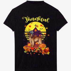 Awesome Afghan Hound Dog Pilgrim Thanksgiving Costume Thankful shirt