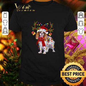 Awesome Cavalier King reindeer Christmas shirt
