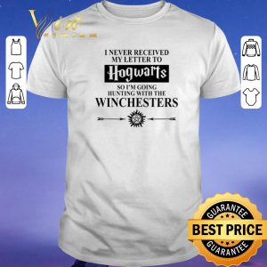Awesome I never received my letter to Hogwarts so i'm going Winchesters shirt sweater