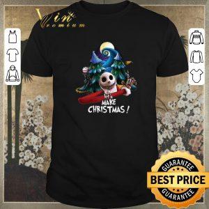 Awesome Jack Skellington let's make Christmas shirt sweater