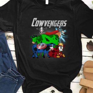 Awesome Marvel Avengers Endgame Cow Cowvengers shirt