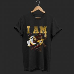 Awesome Strong Groot I am Washington Redskins shirt