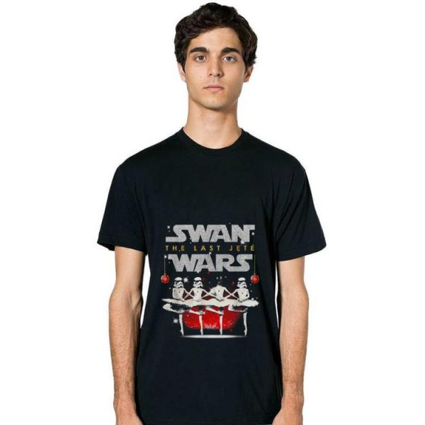 Awesome Swan the last jete wars Christmas shirt
